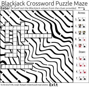crossword maze